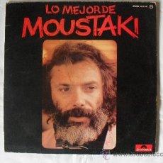 Discos de vinilo: GEORGES MOUSTAKI, (LP) LO MEJOR DE MOUSTAKI, 1.977. Lote 27063784