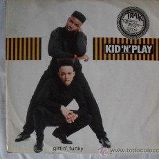Discos de vinilo: KID `N` PLAY- GITTIN FUNKY, MAXI SINGLE 45 RPM . Lote 27063787