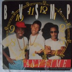Discos de vinilo: BVSMP, ANY TIME, MAXI SINGLE 45 RPM HIP-HOP 1.988 . Lote 27063788