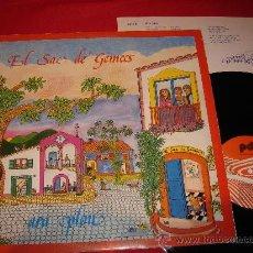 Discos de vinilo: EL SAC DE GEMECS ARA PLOU LP 1983 POP INFANTIL CATALA. Lote 26217874