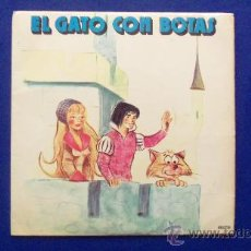 Discos de vinilo: SINGLE - CUENTO - EL GATO CON BOTAS AÑO 1972. Lote 24772606