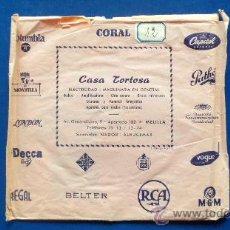 Discos de vinilo: JAN PEERCE CON HENRI RENÉ Y SU ORQUESTA - AÑOS 60. Lote 24774704