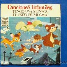 Discos de vinilo: SINGLE - CANCIONES INFANTILES - AÑO 1972. Lote 24776817