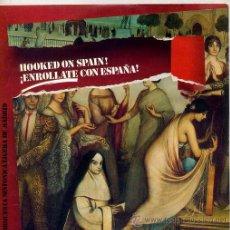 Discos de vinil: HOOKED ON SPAIN! - ORQUESTA SINFONICA LIGERA DE MADRID (SINGLE PROMO 82). Lote 24779648