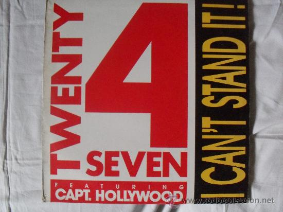 TWENTY 4 SEVEN, MAXI SINGLE 45 RPM I CAN`T STAND IT! (Música - Discos de Vinilo - Maxi Singles - Disco y Dance)