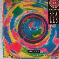 Discos de vinilo: NEW BEAT LESS MEDLEY, MAXI SINGLE , MUSICA ELECTRONICA HOLANDES. Lote 24781983