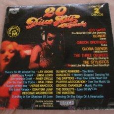 Discos de vinilo: 20 DISCO HITS ORIGINALES, 2 LP.. Lote 24903441
