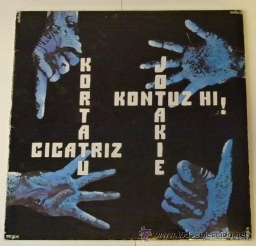 KORTATU LP * CICATRIZ * JOTAKIE * KONTUZ HI * (NEGU GORRIAK) (Música - Discos - LP Vinilo - Punk - Hard Core)
