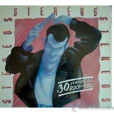 Discos de vinilo: STEREOS LP 30 CLASICOS DEL ROCK AND ROLL 1990 DRO SPA. Lote 24851004