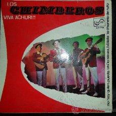 Discos de vinilo: LOS CHIMBEROS , VIVA ACHURI ! , EP 1967. Lote 26623581