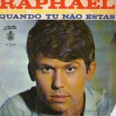Discos de vinilo: RAPHAEL - EP-SINGLE VINILO 7 - EDITADO EN PORTUGAL. Lote 26291916