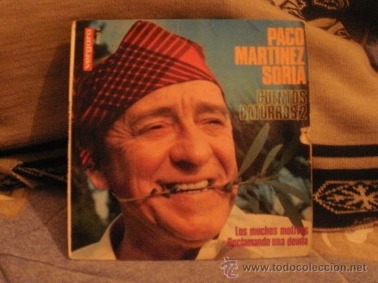 PACO MARTÍNEZ SORIA CUENTOS BATURROS 2 (Música - Discos - Singles Vinilo - Otros estilos)