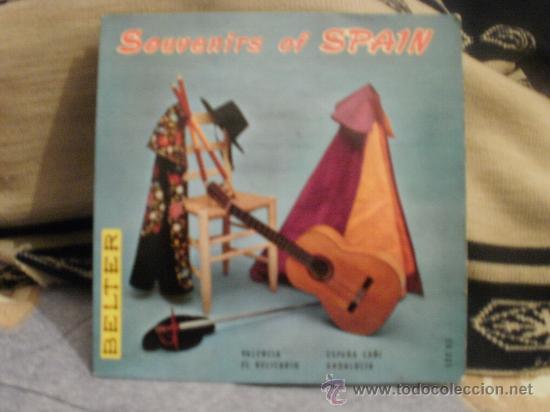 SOUVENIR OF SPAIN (Música - Discos - LP Vinilo - Flamenco, Canción española y Cuplé)
