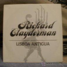Discos de vinilo: RICHARD CLAYDERMAN LISBOA ANTIGUA. Lote 24873908
