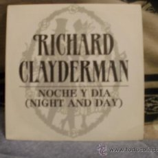 Discos de vinilo: RICHARD CLAYDERMAN NOCHE Y DIA NIGHT AND DAY. Lote 24874029