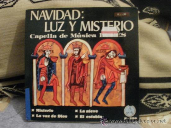 CAPELLA DE MUSICA BURES NAVIDAD LUZ Y MISTERIO (Música - Discos - Singles Vinilo - Otros estilos)