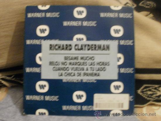 RICHARD CLAYDERMAN BESAME MUCHO (Música - Discos - Singles Vinilo - Otros estilos)