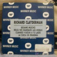 Discos de vinilo: RICHARD CLAYDERMAN BESAME MUCHO. Lote 24876032