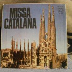 Discos de vinilo: MISA CATALANA. Lote 24877097