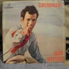 Discos de vinilo: JULIO IGLESIAS GWENDOLYNE - BLA BLA BLA. Lote 25159339