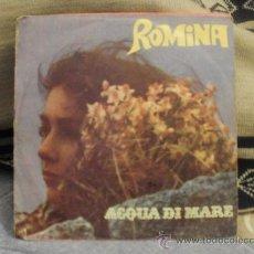 Discos de vinilo: ROMINA ACQUA DI MARE. Lote 25159419