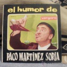 Discos de vinilo: EL HUMOR DE PACO MARTINEZ SORIA EL TARTAJA. Lote 25159548