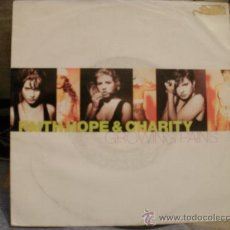 Discos de vinilo: FAITH HOPE AND CHARITY. Lote 31384962