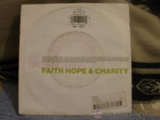 Discos de vinilo: FAITH HOPE AND CHARITY - Foto 2 - 31384962