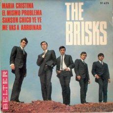 Discos de vinilo: THE BRISKS - MARIA CRISTINA + 3 (EP DE 4 CANCIONES) BELTER 1966 - VG++/VG++. Lote 26250664