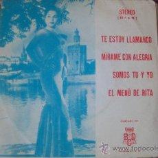 Discos de vinilo: ORQUESTA FANTASIA EP SELLO BCD 1974. Lote 24867114