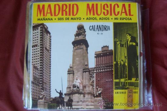ANTONIO LATORRE EP CALANDRIA BEAT (Música - Discos de Vinilo - EPs - Solistas Españoles de los 50 y 60)