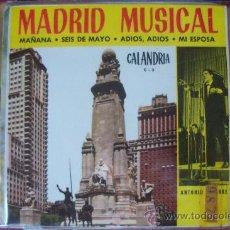 Discos de vinilo: ANTONIO LATORRE EP CALANDRIA BEAT. Lote 24867619