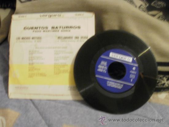 Discos de vinilo: PACO MARTÍNEZ SORIA Cuentos baturros 2 - Foto 2 - 24872301