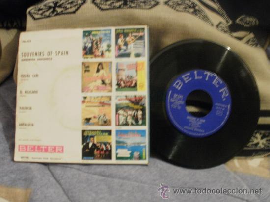 Discos de vinilo: SOUVENIR OF SPAIN - Foto 2 - 24872617