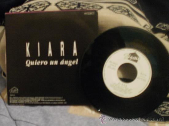 Discos de vinilo: KIARA Quiero un ángel - Foto 2 - 24873234