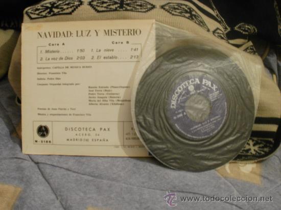 Discos de vinilo: CAPELLA DE MUSICA BURES Navidad luz y misterio - Foto 2 - 24874228