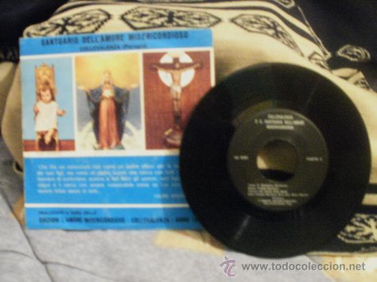 Discos de vinilo: COLLEVALENZA E IL SANTUARIO DELL´AMORE MISERICORDIOSO - Foto 2 - 24874719