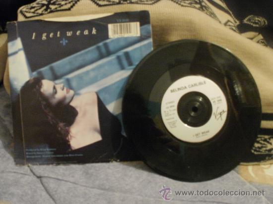 Discos de vinilo: BELINDA CARLISLE I get weak - Foto 2 - 24875004