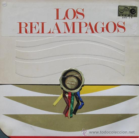 LOS RELAMPAGOS 6 PISTAS 2 ZAFIRO 1968 (Música - Discos - LP Vinilo - Grupos Españoles 50 y 60)
