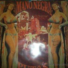 Discos de vinilo: MANO NEGRA LP PUTAS FEVER. Lote 26472449