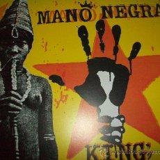 Discos de vinilo: MANO NEGRA LP KING OF BONGO. Lote 26472451