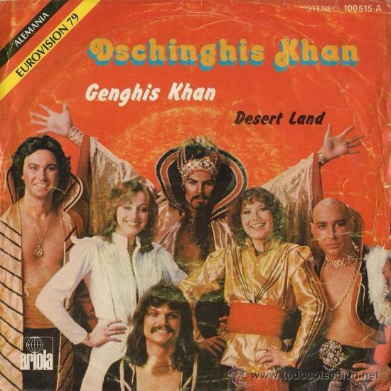 DECHINGHIS KHAN - GENGHIS KHAN - EUROVISIÓN 79 - ALEMANIA (Música - Discos - Singles Vinilo - Festival de Eurovisión)