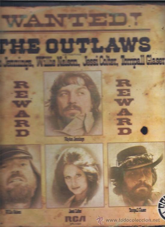 THE OUTLAWS WANTED (Música - Discos - LP Vinilo - Pop - Rock - Extranjero de los 70)