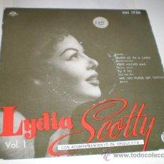 Discos de vinilo: LYDIA SCOTTY - SINGLE. Lote 156897760