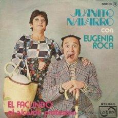 Discos de vinilo: JUANITO NAVARRO Y EUGENIA ROCA - EL FACUNDO - 1976. Lote 26452563