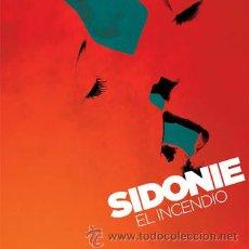 Discos de vinilo: SIDONIE - EL INCENDIO - EDICION LIMITADA EN VINILO POR TRILOBITE RECORDS. Lote 148138514