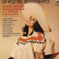 Discos de vinilo: MERCEDES CASTRO - LA VOZ DEL SENTIMIENTO - LP 1980 - COMO NUEVO. Lote 25080237