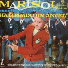 Discos de vinilo: MARISOL - EP-SINGLE VINILO 7'' - HA LLEGADO UN ÁNGEL - 4 TRACKS - EDITADO EN ESPAÑA - AÑO 1961.. Lote 24996274