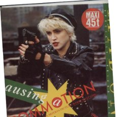 Discos de vinilo: LP MAXI 45 RPM / MADONNA / CAUSING A COMMOTION. Lote 25004046
