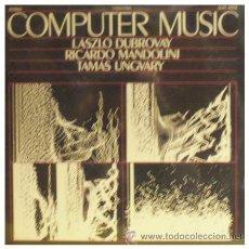 Dischi in vinile: LASZLO DUBROVAY RICARDO MANDOLINI TAMAS UNGVARY LP HUNGARO PROGRESIVO ELECTRONICA AVANTGARDE. Lote 26611019